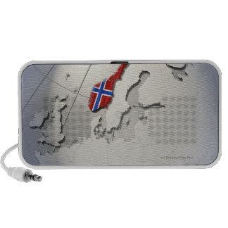 Flag of Norway PC Speakers