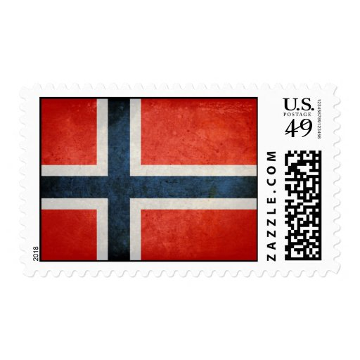 Flag of Norway Stamps