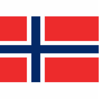 Flag of Norway Statuette