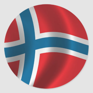 Flag of Norway Stickers