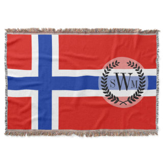Flag of Norway Throw