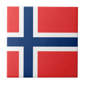 Flag of Norway  Tile