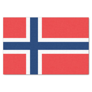 """Flag of Norway Tissue Paper 10"""" X 15"""" Tissue Paper"""