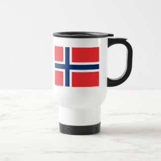 Flag of Norway Travel Mug