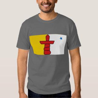 Flag of Nunavut, Canada Tee Shirt