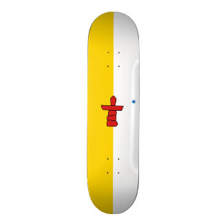 Flag of Nunavut Skateboard Deck