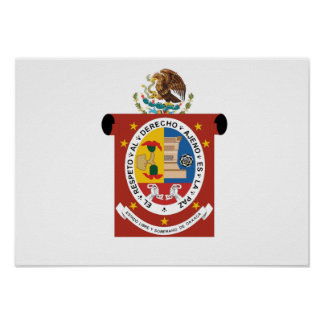 Flag of Oaxaca Poster