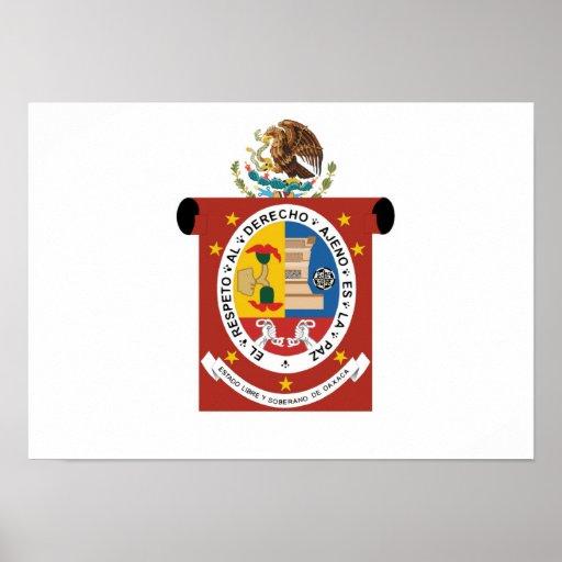 Flag of Oaxaca Poster