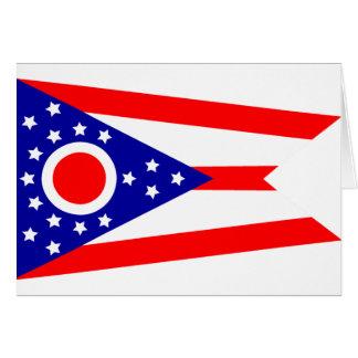 Flag of Ohio Card