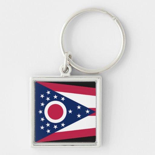 Flag of Ohio Keychain