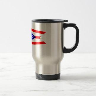 Flag of Ohio Travel Mug