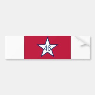 Flag Of Oklahoma Bumper Sticker