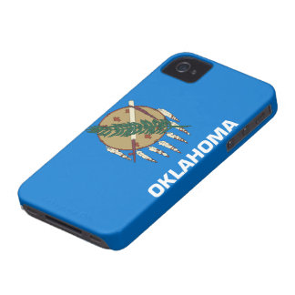 Flag of Oklahoma iPhone 4 Case-Mate Cases