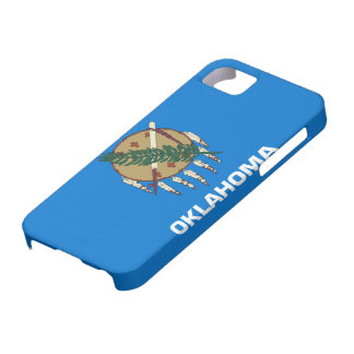 Flag of Oklahoma iPhone 5 Cases