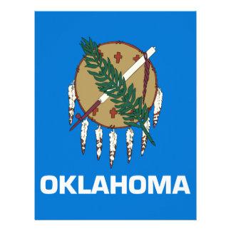 Flag Of Oklahoma Letterhead