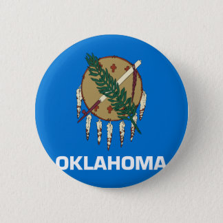 Flag of Oklahoma Pinback Button