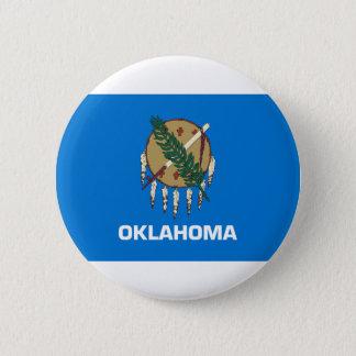Flag Of Oklahoma Pinback Button