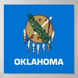 Flag of Oklahoma Poster
