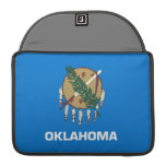Flag of Oklahoma Sleeves For MacBook Pro