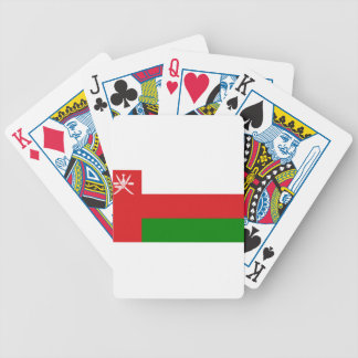 Flag_of_Oman Bicycle Playing Cards