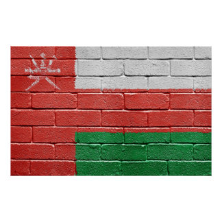 Flag of Oman Poster