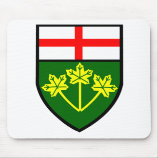 Flag of Ontario Mouse Pad