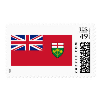 Flag of Ontario Postage Stamps