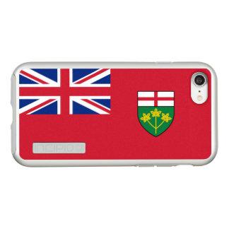 Flag of Ontario Silver iPhone Case