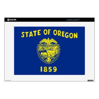"Flag of Oregon 15"" Laptop Decal"