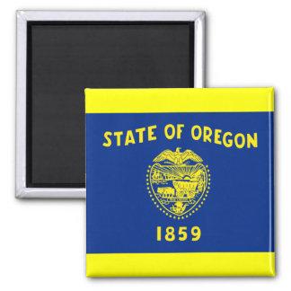 Flag of Oregon 2 Inch Square Magnet