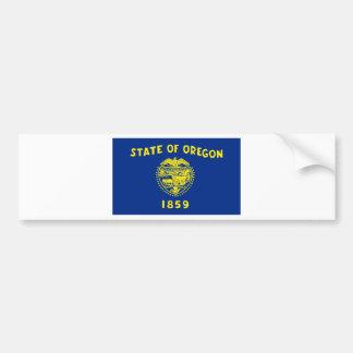 Flag Of Oregon Bumper Sticker