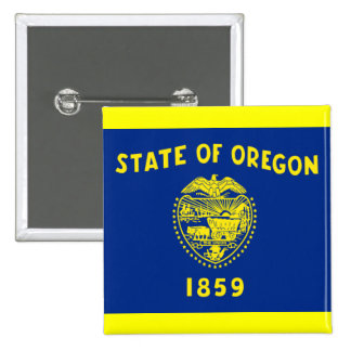 Flag of Oregon Buttons