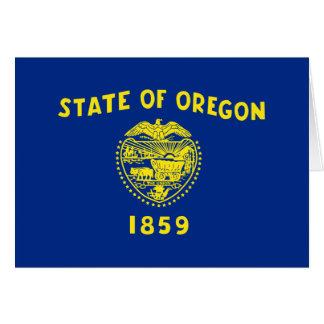 Flag of Oregon Card