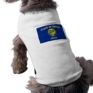 Flag of Oregon Dog Tshirt