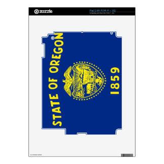 Flag of Oregon iPad 2 Decal