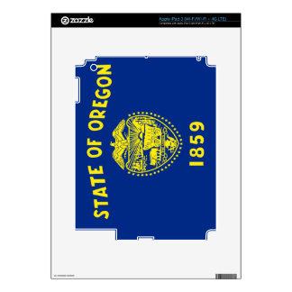 Flag of Oregon iPad 3 Decal