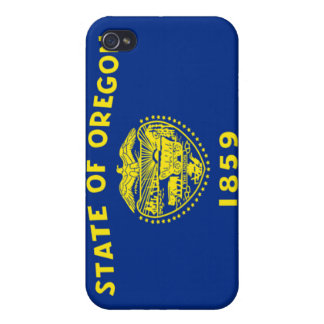 Flag of Oregon iPhone 4 Covers