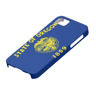 Flag of Oregon iPhone 5 Cases