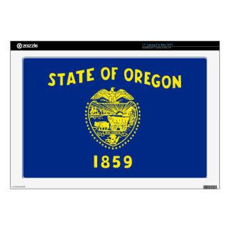 Flag of Oregon Laptop Decal
