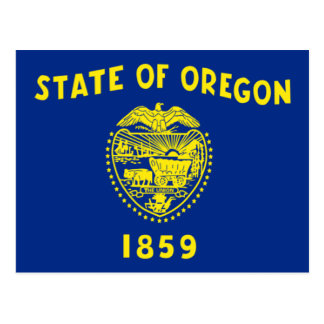 Flag of Oregon Postcard