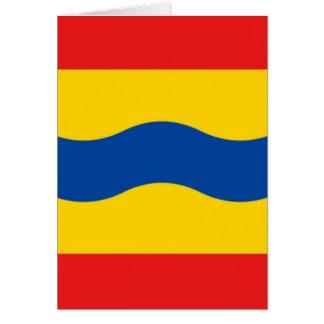 Flag of Overijssel Card