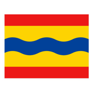 Flag of Overijssel Postcard