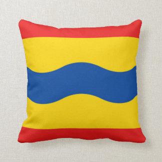 Flag of Overijssel Throw Pillow