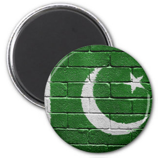 Flag of Pakistan 2 Inch Round Magnet