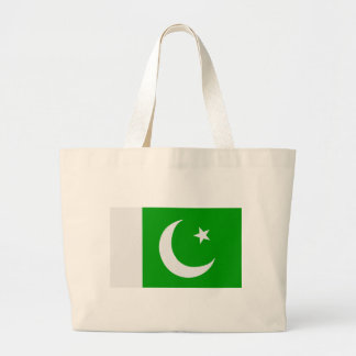 Flag of Pakistan Tote Bags