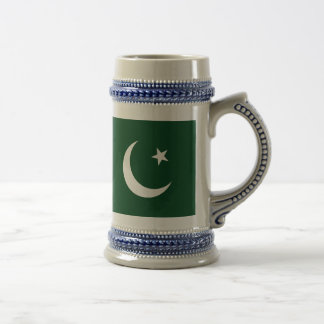 Flag of Pakistan Beer Stein