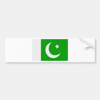 Flag of Pakistan Bumper Sticker