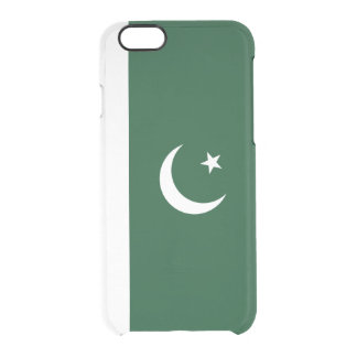 Flag of Pakistan Clear iPhone Case