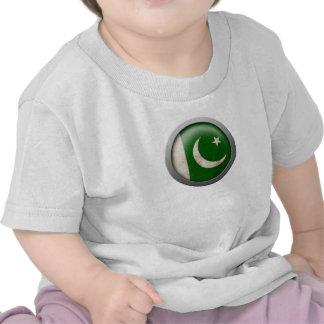 Flag of Pakistan Disc Shirts