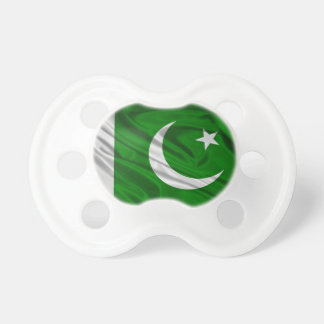 Flag of Pakistan Baby Pacifiers